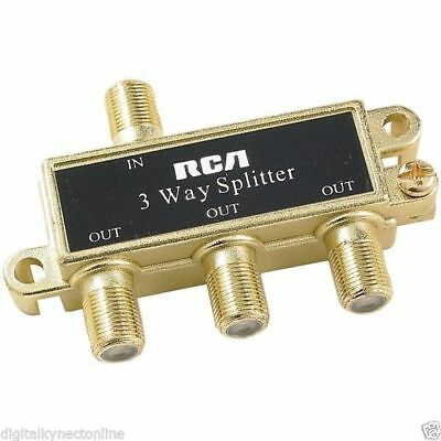 RCA Audio/Video Signal Splitter, 3-Way (VH48R)