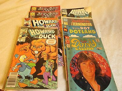 Lot Of 8 Vintage Comic Books - Mixed brands