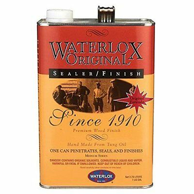 Tung Oil Based Wood Sealer for a Medium Sheen Appearance by Waterlox - 1 Gallon