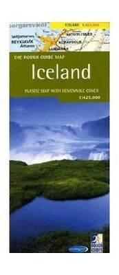 Rough Guide Map Iceland by Rough Guides Sheet map Book The Cheap Fast Free Post