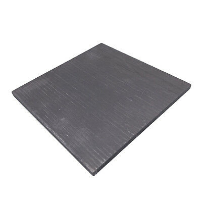 US Stock 1x 4*100*100mm 99.99% Pure Graphite Electrode Rectangle Plate Sheet