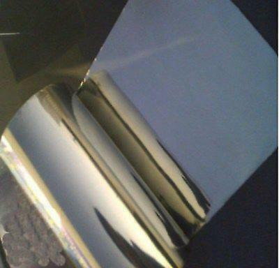 US Stock 0.1mm x 100mm x 1000mm 99.995% Pure Iron Foil Fe Thin Sheet