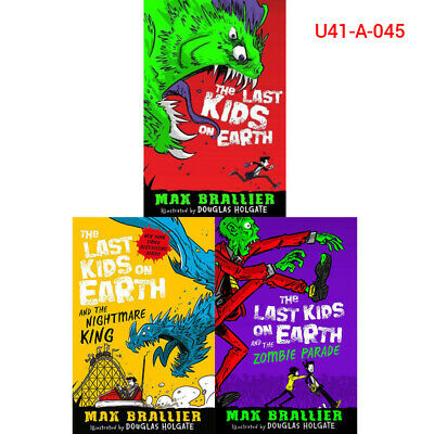 Max Brallier Last Kids on Earth Collection 3 Books The Zombie Parade New Pack