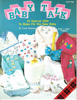 Baby Talk 45 Special Gifts To Make For The New Baby By Carol Runyans