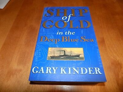 SHIP OF GOLD SS Central America Gold Coins Shipwreck Dive Ship Salvage Book NEW