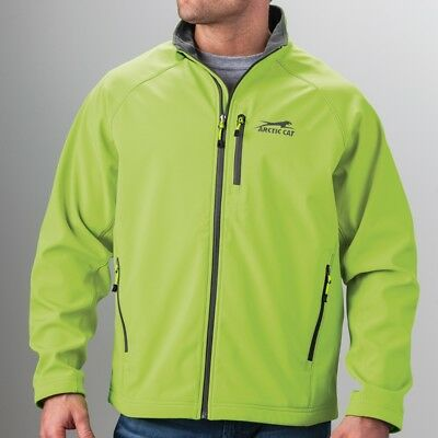 Arctic Cat Men's Aircat Windproof Water-Resistant Jacket - Lime Green - 5273-57_