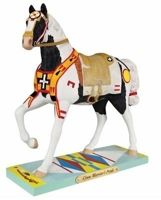 Trail of Painted Ponies Crow Warrior's Pride Horse Figurine 4049714 Pony New