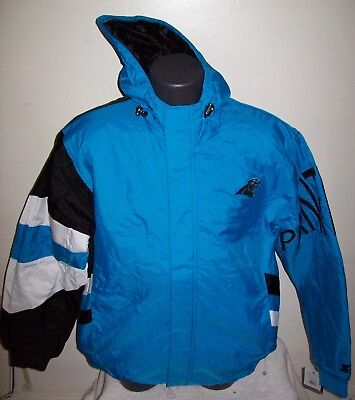 on sale 6a0d3 d9b26 CAROLINA PANTHERS WINTER Jacket Logo Athletic New Old Stock ...