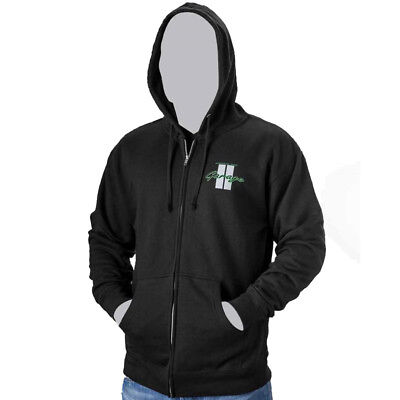 Arctic Cat Men's Arctic Cat Garage Full-Zip Hoodie Sweatshirt - Black - 5253-27_