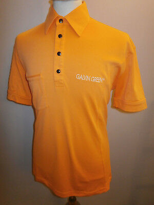ded2bed74 Galvin Green Golf Max Tour Edition Orange Polo Shirt Top Size Xl Mens