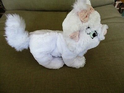"""Disney's Tote A Tail Plush 'Marie the Cat' from The Aristocats - 8"""" Long"""