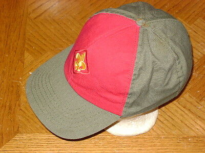 Snap Back Green BSA Official Boy Scouts of America Scout Uniform Baseball Hat