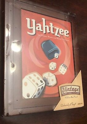Parker Brothers Vintage Game Collection Wooden Book Box Yahtzee Wood Bookshelf Board