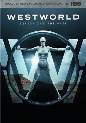 Westworld: The Complete First Season (DVD,2017) (ward630596d)