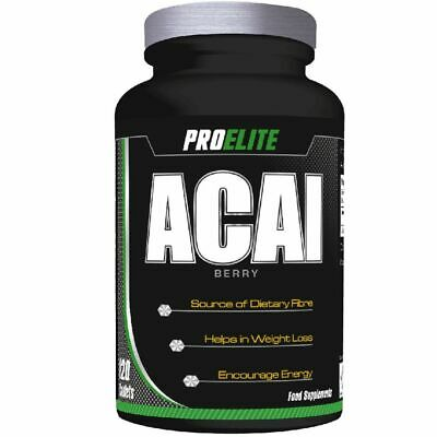 Acai Berry 120 x 2000mg Tablets ProElite Weight Loss Diet Slimming Pills
