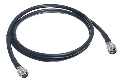 200ft N Male to N Male LMR400 Times Microwave Coax 50 Ohm Cable