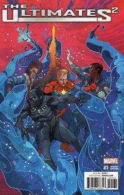 The Ultimates 2 #1 (NM)`17 Ewing/ Foreman  (VARIANT)