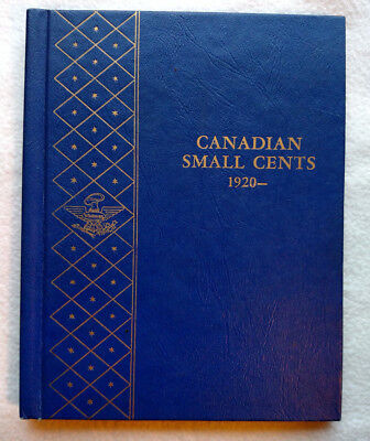 44 Coin Canadian Small cent Collection in Whitman Folder 1920-67