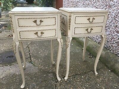 Pair Of Olympus Style Louis-style bedside tables