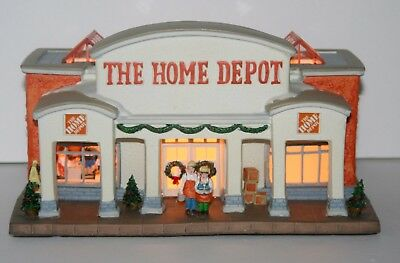 The Home Depot, Christmas Holiday Home Canterbury Lane Village, Lighted, 1st Ed