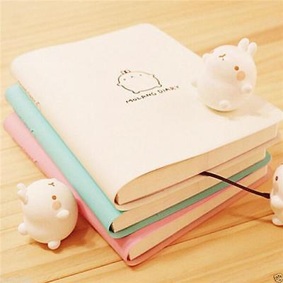 Kawaii Faux Leather Vintage Notebook Blank Diary Memo Note Book Journal Gift Z