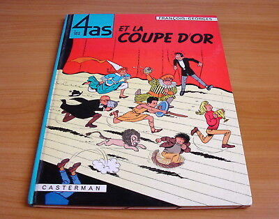 Les 4 AS - tome  6 - La coupe d'or - Craenhals Ré 1969