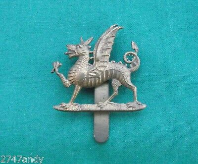The Monmouthshire Regiment - 100% Genuine British Army Military Cap Badge