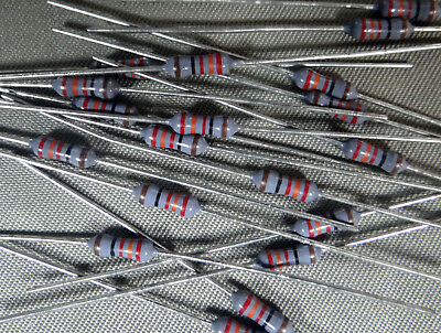 Resistors, Metal Film, 1/4 watt, 1%, axial lead, 232 Ohm - QTY of 20