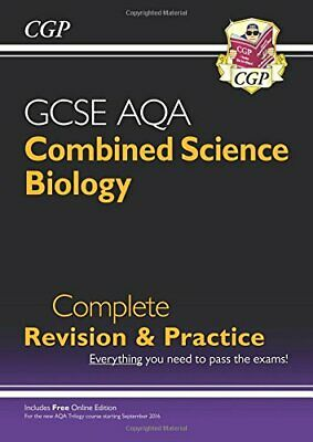 9-1 GCSE Combined Science: Biology AQA Higher Complete Revision ... by CGP Books
