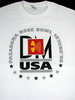 Depeche Mode 1988 Rose Bowl Music For The Masses Concert Shirt Repro Sz L