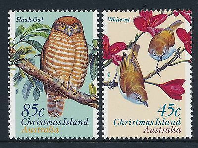 1996 Christmas Island Land Birds set of 2 Fine Mint MNH/MUH