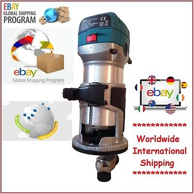 Zen Variable Speed Electric Hand Trimmer/Router Wood Laminate  710W 230V