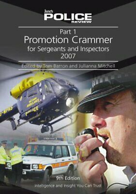 Part 1 Promotion Crammer: Pt. 1 (Janes Police Review) Paperback Book The Cheap