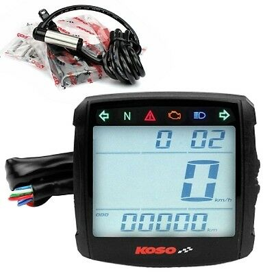 Universal Speedometer Koso Tacho XR - S 01 with CE for Motorcycle Scooter