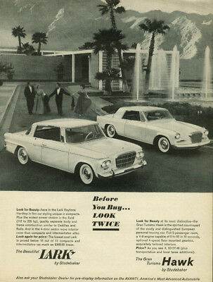 Studebaker invites your inspection of the Gran Turismo Hawk  1962d