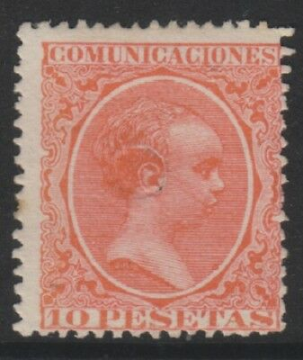 Spain - 1889, 10p Red stamp - M/M - SG 288