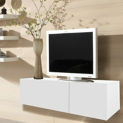 95cm lowboard wei tv board schrank tisch sideboard. Black Bedroom Furniture Sets. Home Design Ideas
