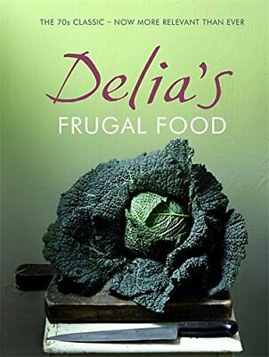 Delia's Frugal Food by Smith, Delia Hardback Book The Fast Free Shipping
