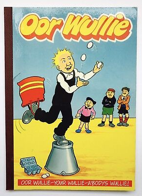 OOR WULLIE ANNUAL 1990 / 1991 - Retro Comic, Sunday Post - Very Good Condition *