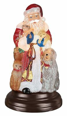Old World Christmas Santa's Furry Friends Light # 529776 2017