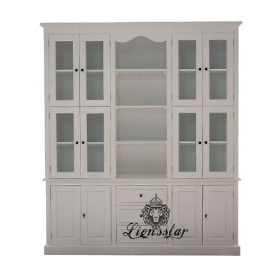 Antik Bücherschrank White Beauty