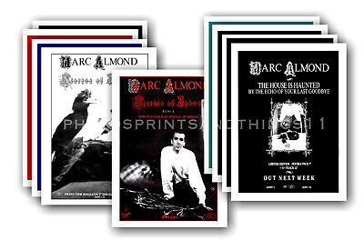 MARC ALMOND - 10 promotional posters  collectable postcard set # 2