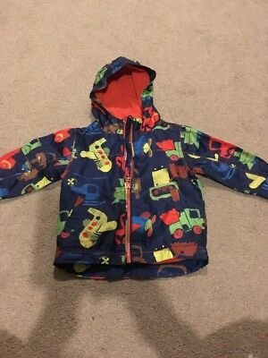 Baby Boys Cars Planes Light Coat Age 9-12 Months