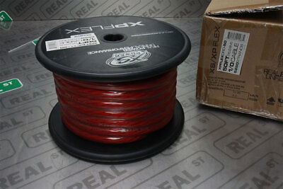 XS Power XP Flex 1/0 Gauge Red Power Cable 50 Feet 10% OFC 90% CCA XPFLEX0RD-50