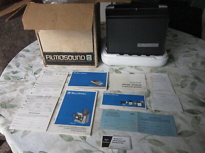 Vintage Bell & Howell 358S Filmosound 8 Super 8mm Movie Projector with Autoload
