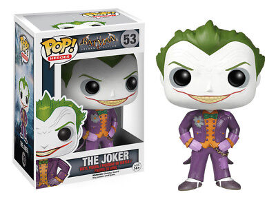 Funko Pop Heroes: Batman Arkham Asylum - The Joker Vinyl Figure Item #4339