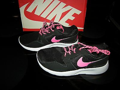 Brand  New Girls Black & Pink Nike Kaishi Tennis Shoes, Size 5.5
