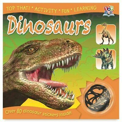 Sticker Reference Book - Dinosaurs (Sticker Reference Books) by Nat Lambert The
