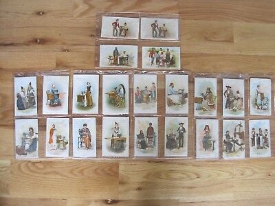 Victorian SEWING TRADE CARDS Singer Countries Collection 1892 Lot 22