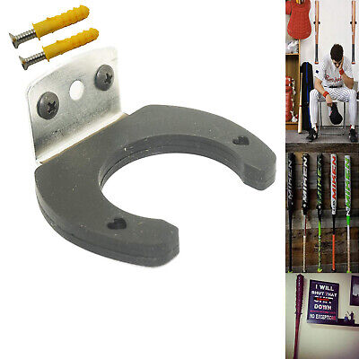 Bat Metal & rubber baseball /softball bat rack display holder hanger Mount shelf